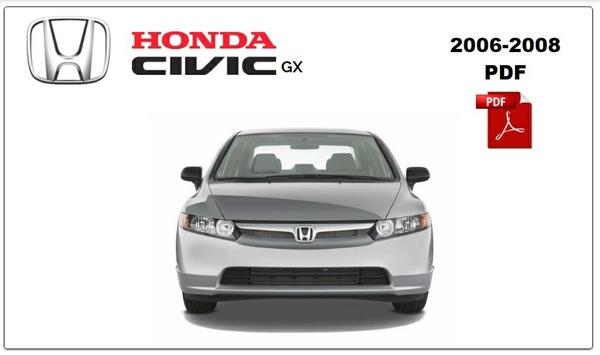 Honda Civic 2007-2008 Repair Manual PDF