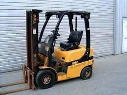 Yale (B810) GLP 030 AF, GLP 040 AF, GP 030 AF, GP 040 AF Forklift Service Parts  Manual