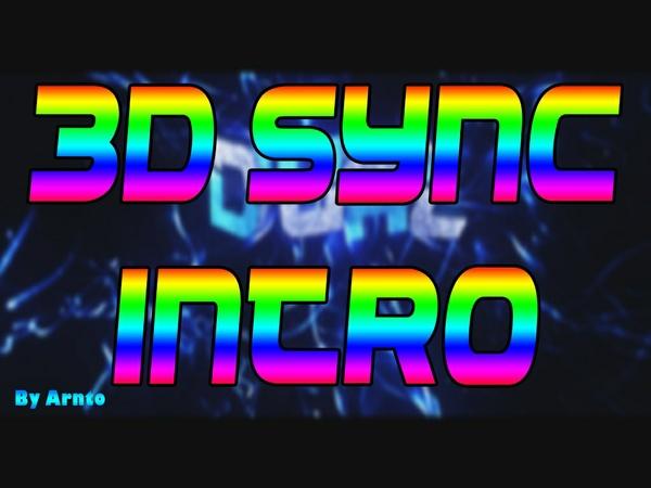 Custom 3D Sync Intro