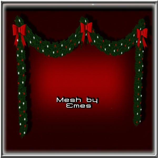 Mesh-Christmas Garland V1