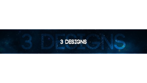 Professional Custom Youtube Banner