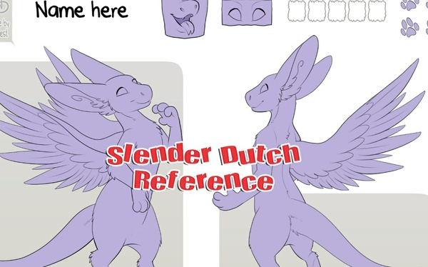 Slender Angel Dragon Reference