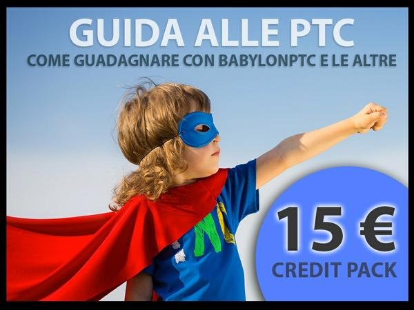 Babylonptc - 15 € di credito + e-book