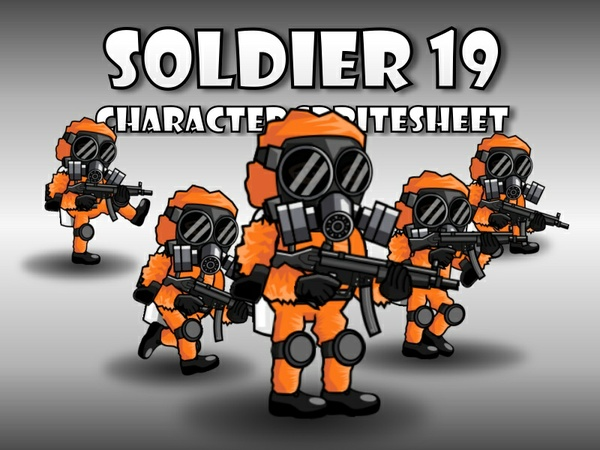 Soldier Character 19