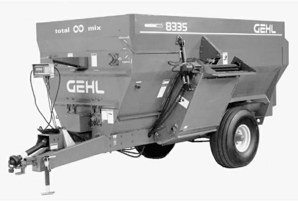 GEHL 8280/8285/8330/8335 Mixer Feeders Parts Manual