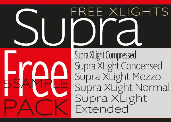 Supra-5-Free-XLight-Fonts