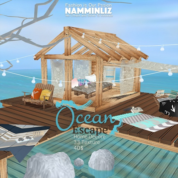 H O M E Ocean Escape Home Decor 33 Textures Limited to 4
