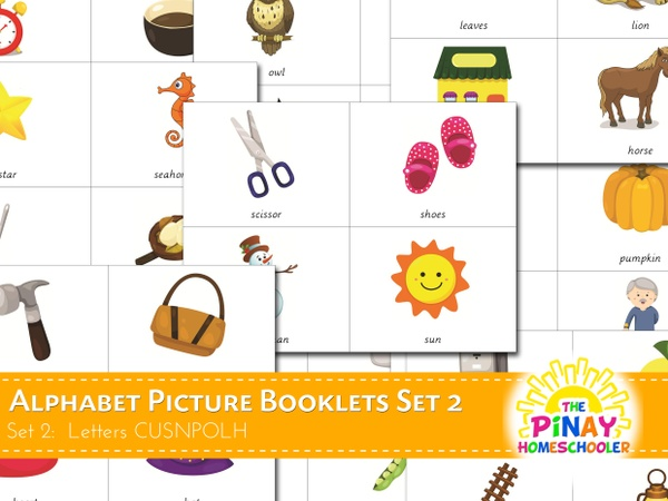 Letter Picture Booklets (CUSNPOLH)