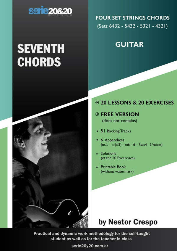 GUITAR / Donation  - Seventh Chords. (does not contains: 51 Backing Tracks)