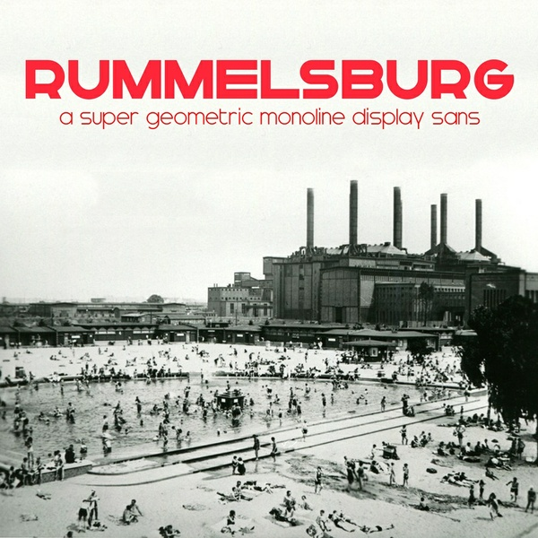 Rummelsburg Font Family - Webfont