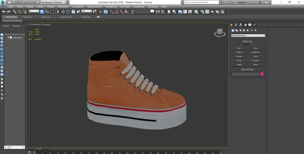 IMVU Mesh - Shoes - Platform Sneakers