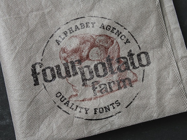 Four Potato Farm Font