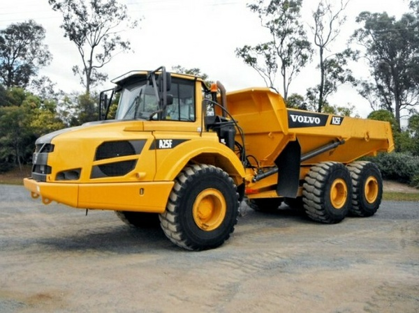 VOLVO A25F ARTICULATED DUMP TRUCK SERVICE REPAIR MANUAL - DOWNLOAD