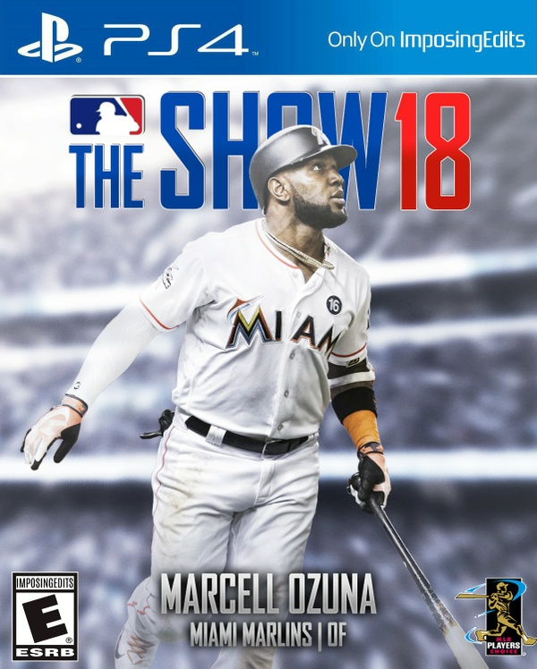 MLB The Show 18 Custom Cover (PSD)