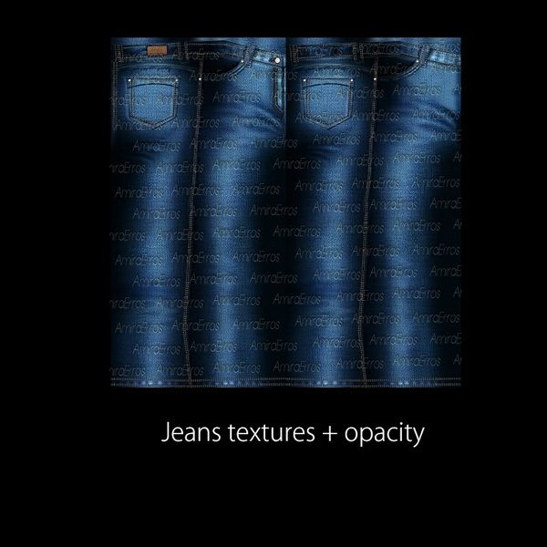 Jeans textures + opacity