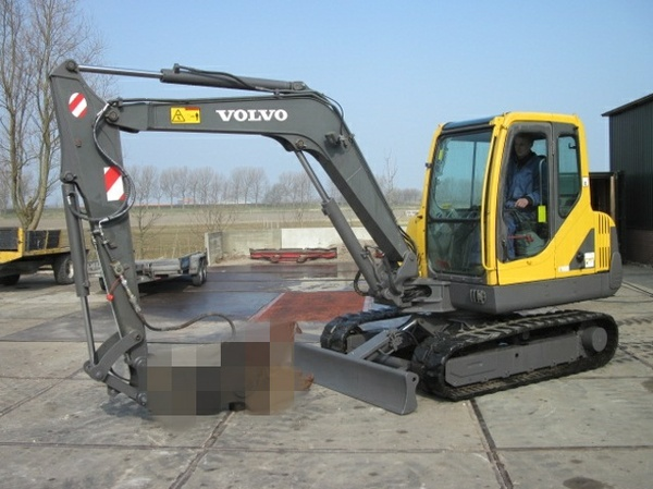 VOLVO EC55-2 COMPACT EXCAVATOR SERVICE REPAIR MANUAL - DOWNLOAD