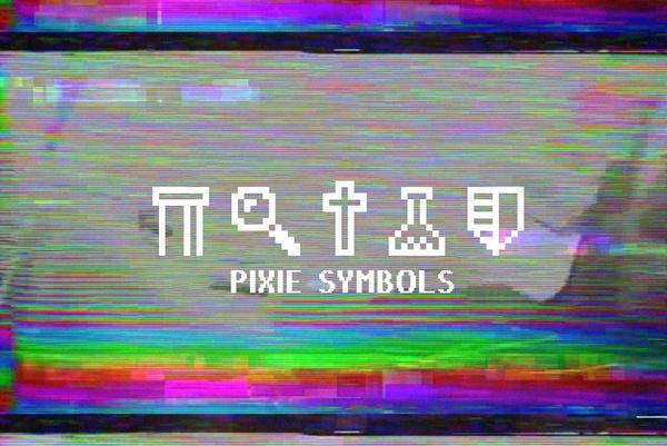 Free Font: Pixie Symbols