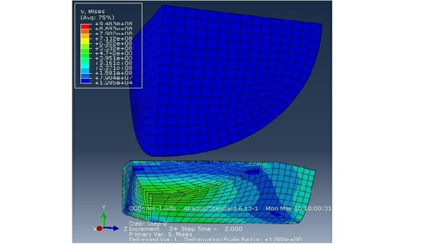 Solved FEA as ABAQUS files for TUTORIAL 2