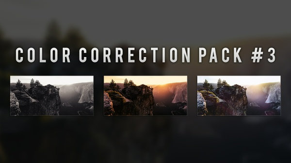 Photoshop Color Correction Pack #3