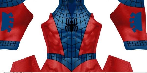 Web-man (Reverse Spider-man)