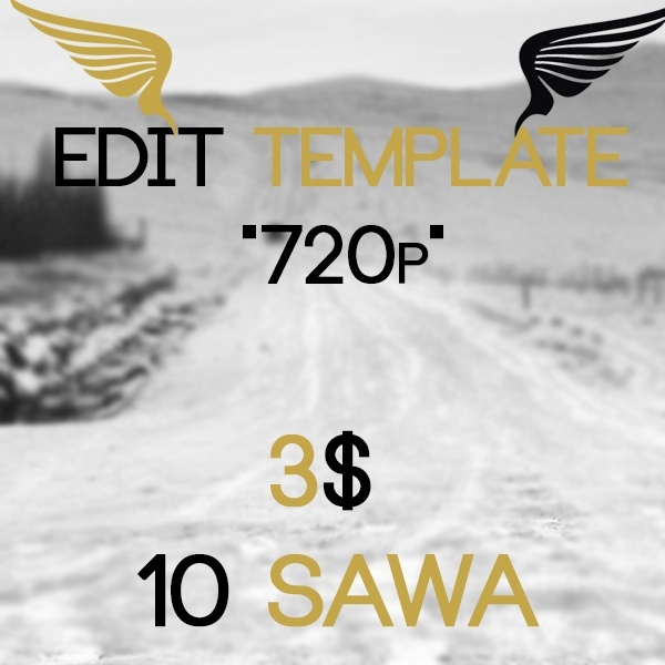 "Edit Template ""720p"""
