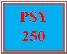 PSY 250 Week 1 Personality and the Psychoanalytic Perspective Worksheet