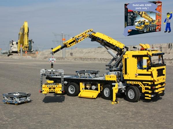 Crane Truck 42009c