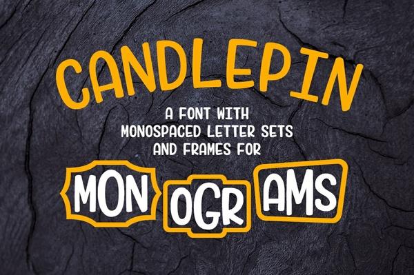 Candlepin: make fun monograms!