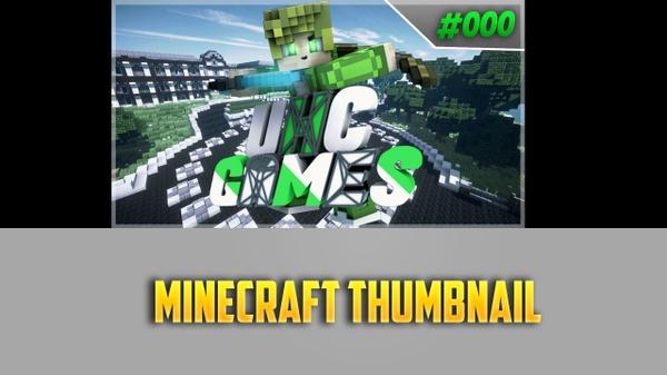 Minecraft Thumbnail or Minecraft Mlab Thumbnail