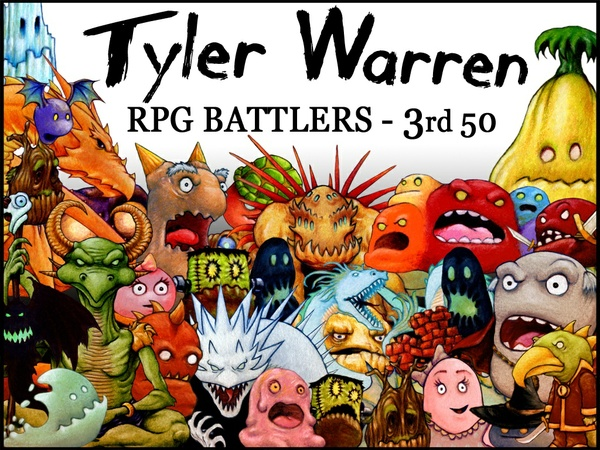 Tyler Warren RPG Battlers - 3rd 50 Monsters