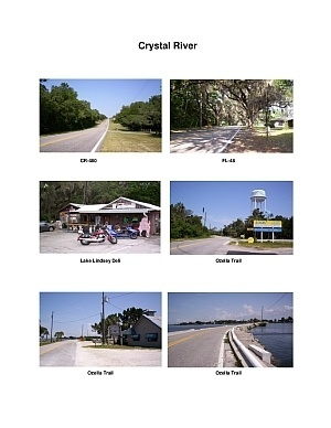 Crystal River Scenic Motorcycle Ride