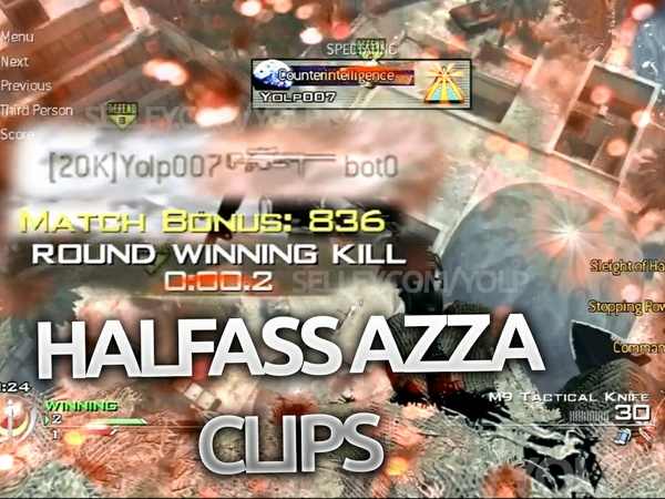 Half-ass Azza Clips (PS3) (bot0 as dummy)