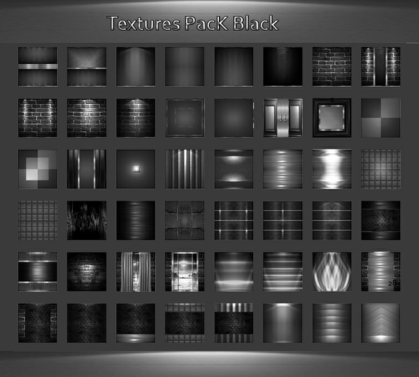 50_Textures Pack Black
