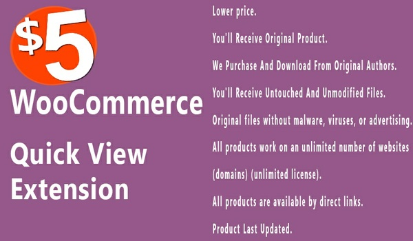 WooCommerce Quick View 1.1.12 Extension
