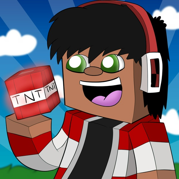 Drawn Minecraft Avatar