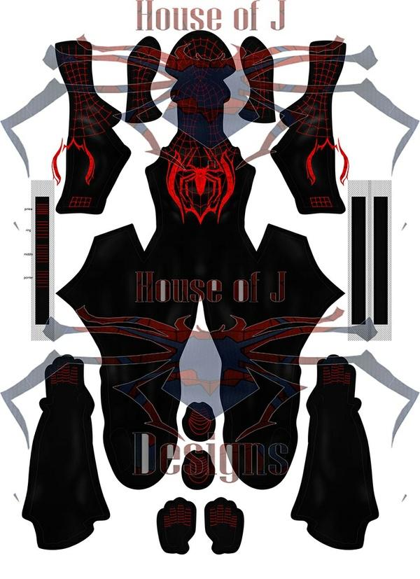 """""""Miles Morales"""" V1 custom Spider-man pattern"""
