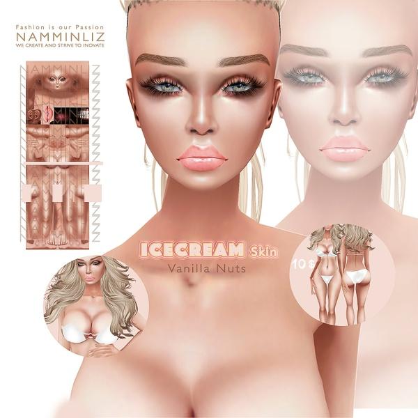 IceCream • Vanilla Nuts Skin3