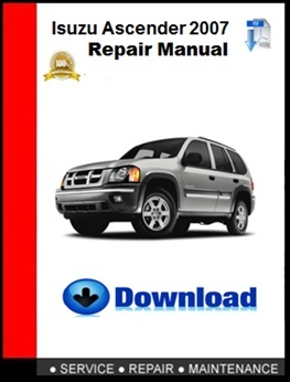 Isuzu Ascender 2007 Repair Manual