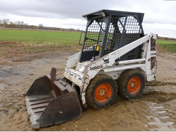 Bobcat 542B Skid Steer Loader Service Repair Workshop Manual DOWNLOAD