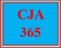 CJA 365 Week 4 Debate: Police and Civilian Budget Preparation