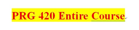 PRG 420 Week 3 Individual Salesperson Java™ Application Part II