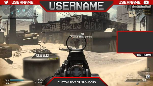 Free Overlay Template #2