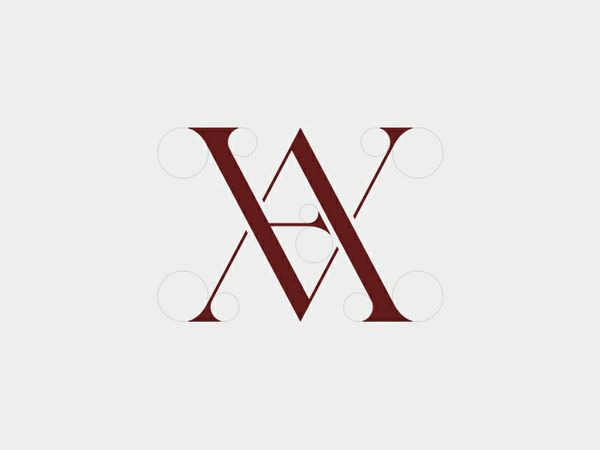 'VA/AV' Logo Concept
