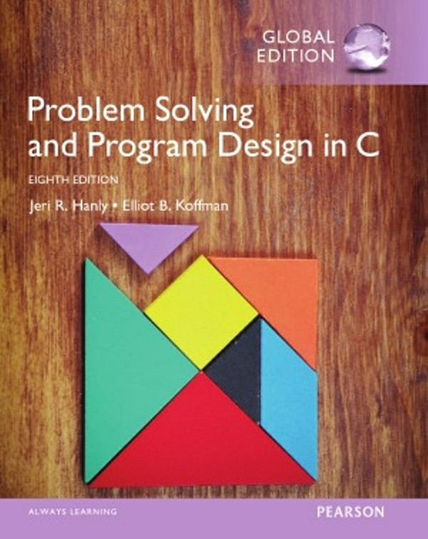 Problem Solving and Program-Design in C 8th edition  ( Global Edition ) ( PDF, Instant download )
