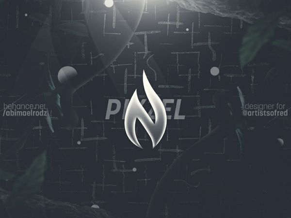 Red Pikzel Header PSD