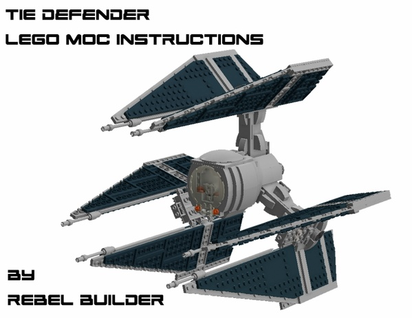 LEGO TIE Defender Instructions