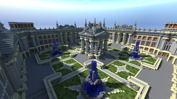 Minecraft | 4 Portal Hub
