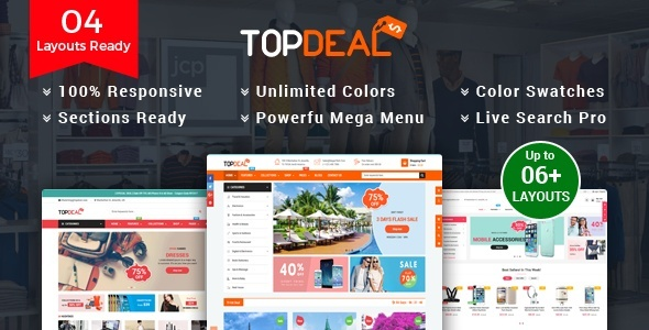 TopDeal - Multipurpose Wordpress Theme