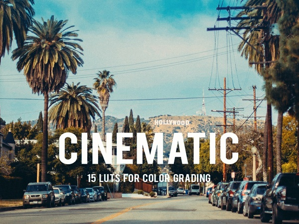 15 Cinematic LUTs