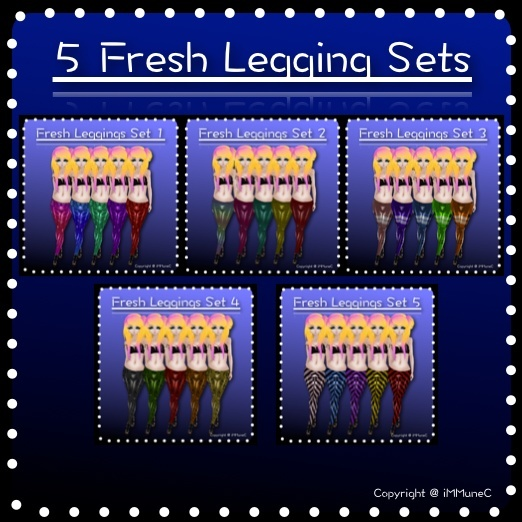 25 Fresh Leggings With Resell Rights